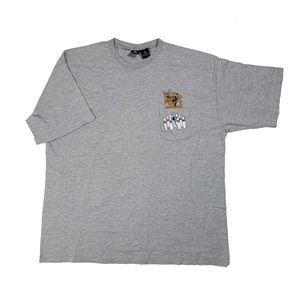 Vintage Scooby Doo Embroidered Pocket Tee Shirt